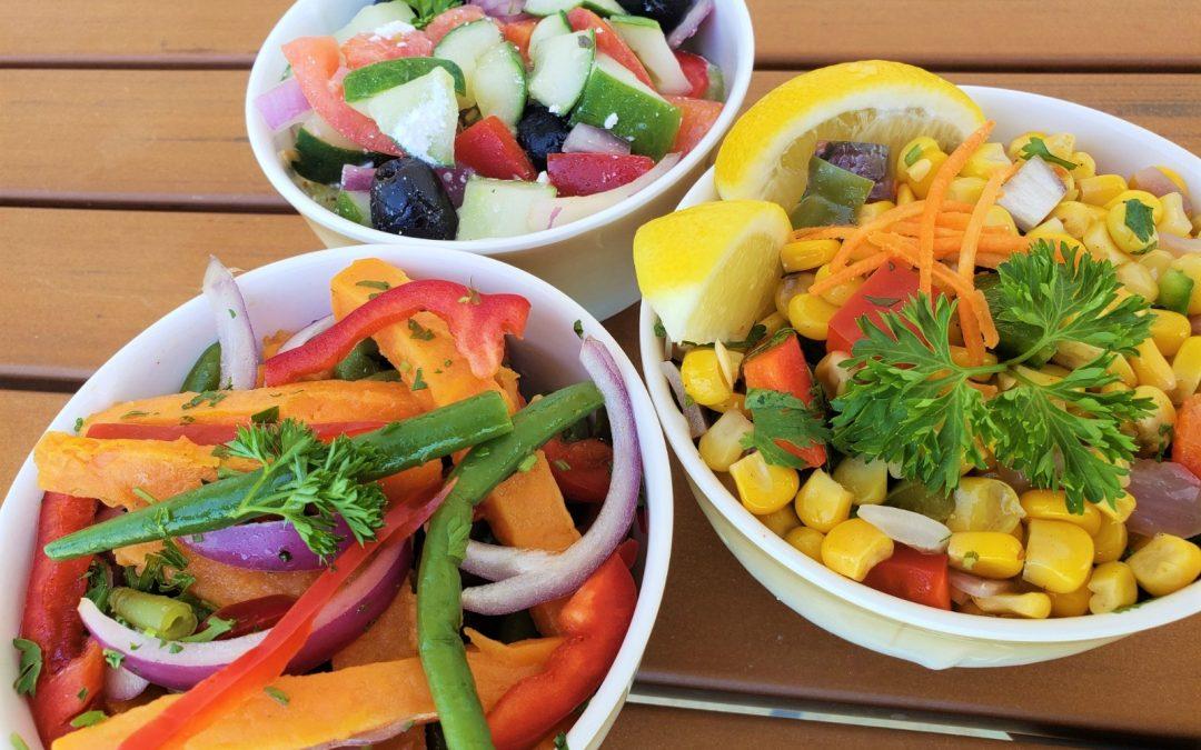 3 Opciones Fáciles de Ensaladas Veganas