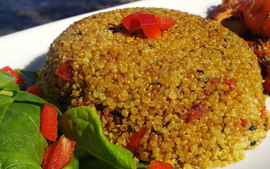 Quinoa con Cilantro