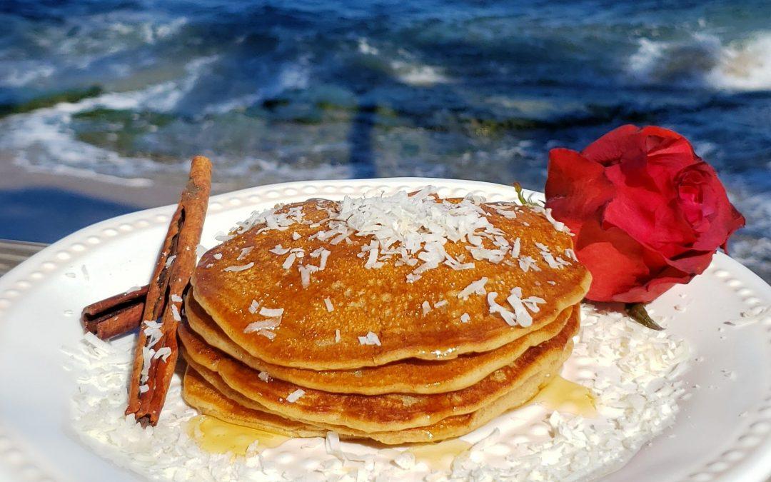 Pancakes de Coquito